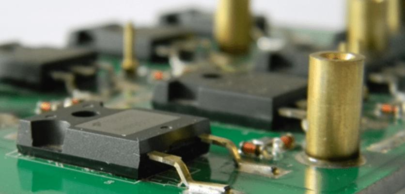 Schede elettroniche con substrato in alluminio